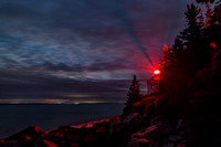 Bass Harbor Head Light at Night