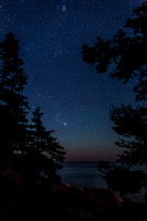 Orion Rising Over Bass Harbor